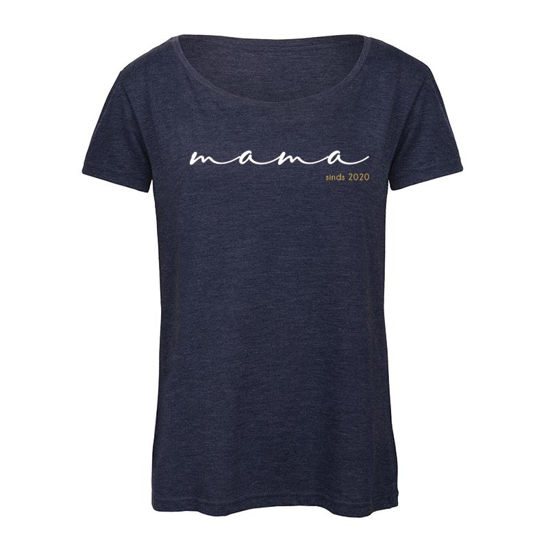T-shirt Vrouw - Mama Sinds