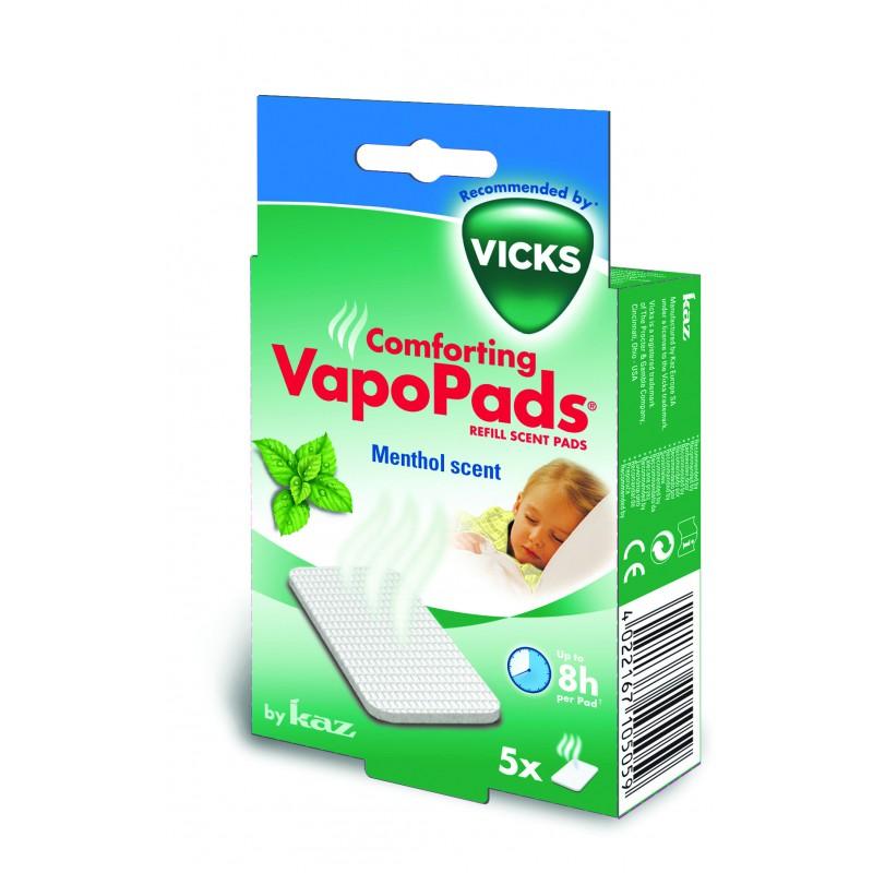 Vicks  Vapopads Menthol +36 Maanden 7 stuks