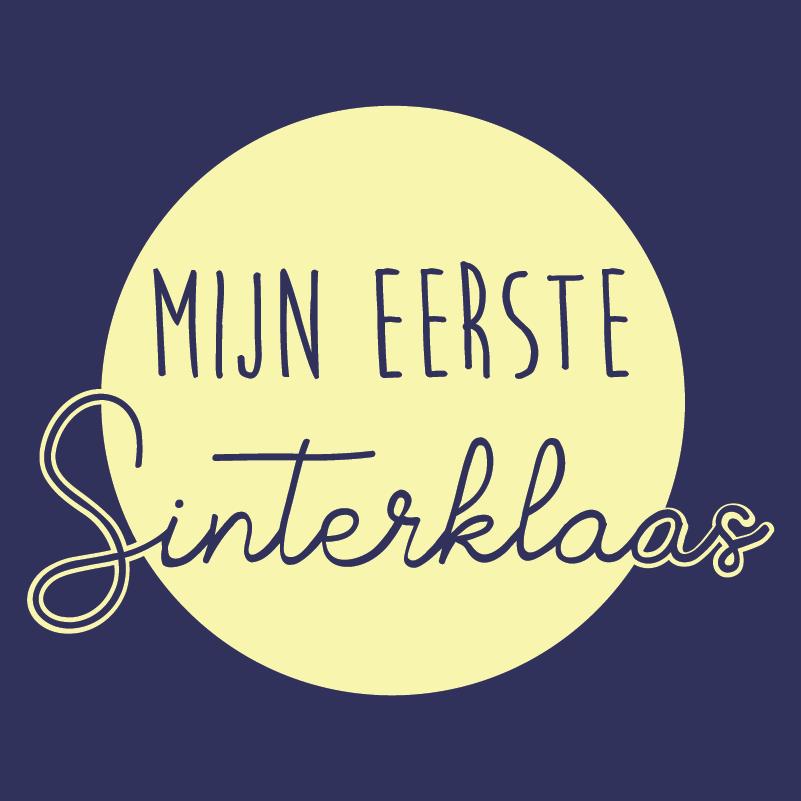 Sinterklaas design Mijn eerste Sinterklaas (Rond)