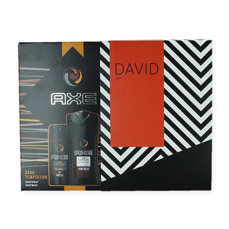 Axe geschenkset - Deodorant  & Douchegel Dark Temptation