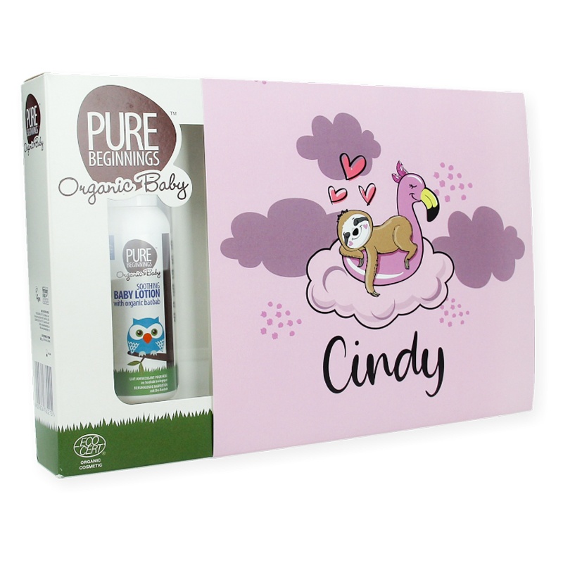 Gepersonaliseerde cadeauset - Baby Pure Beginnings