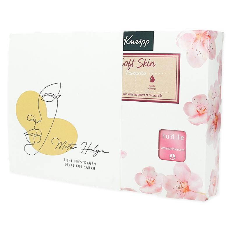 Gepersonaliseerde Cadeauset Kneipp - Soft Skin Favourites