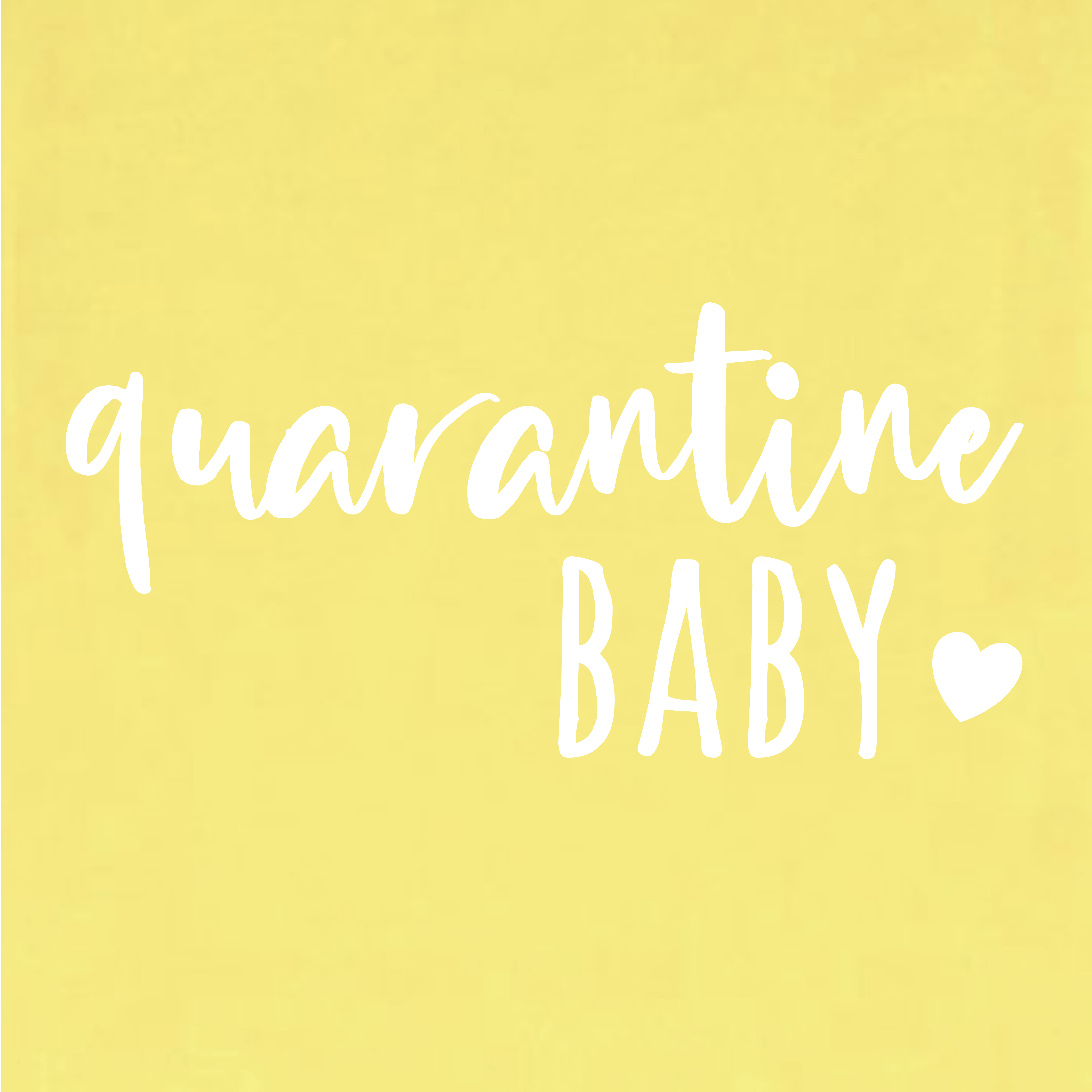 Quarantaine design 6 - Quarantaine Baby