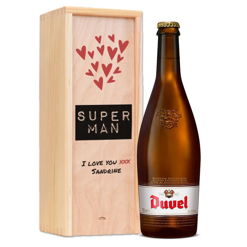 Gepersonaliseerd bierpakket Duvel
