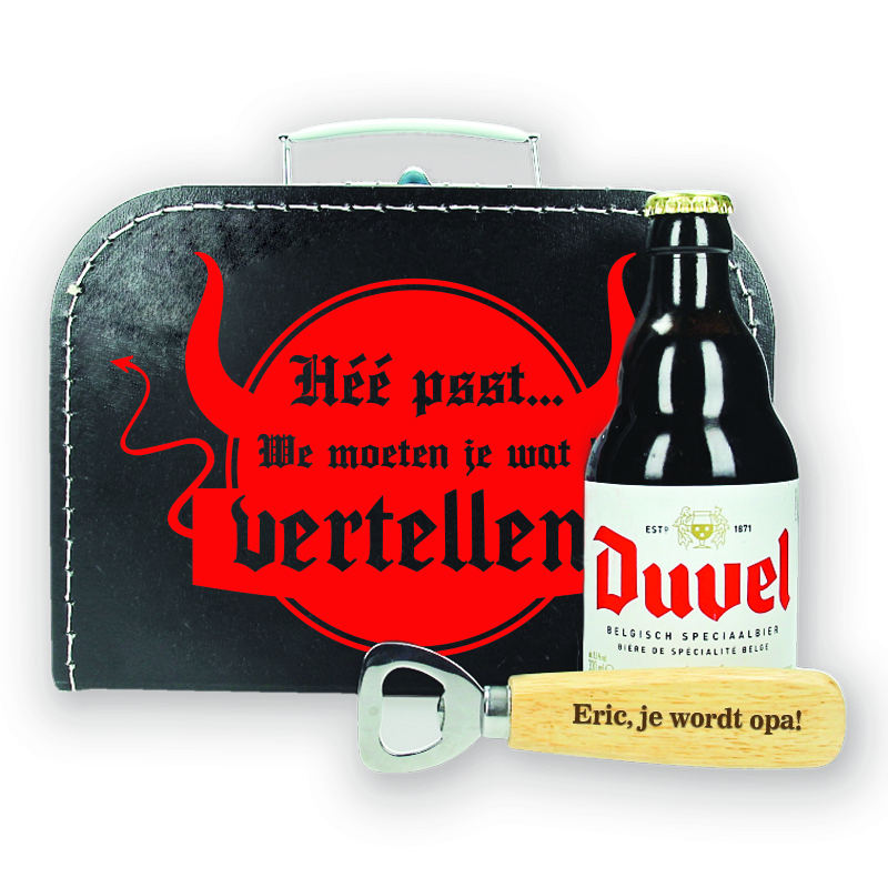 Bierpakket Duvel  - Je wordt opa! - ontwerp 2