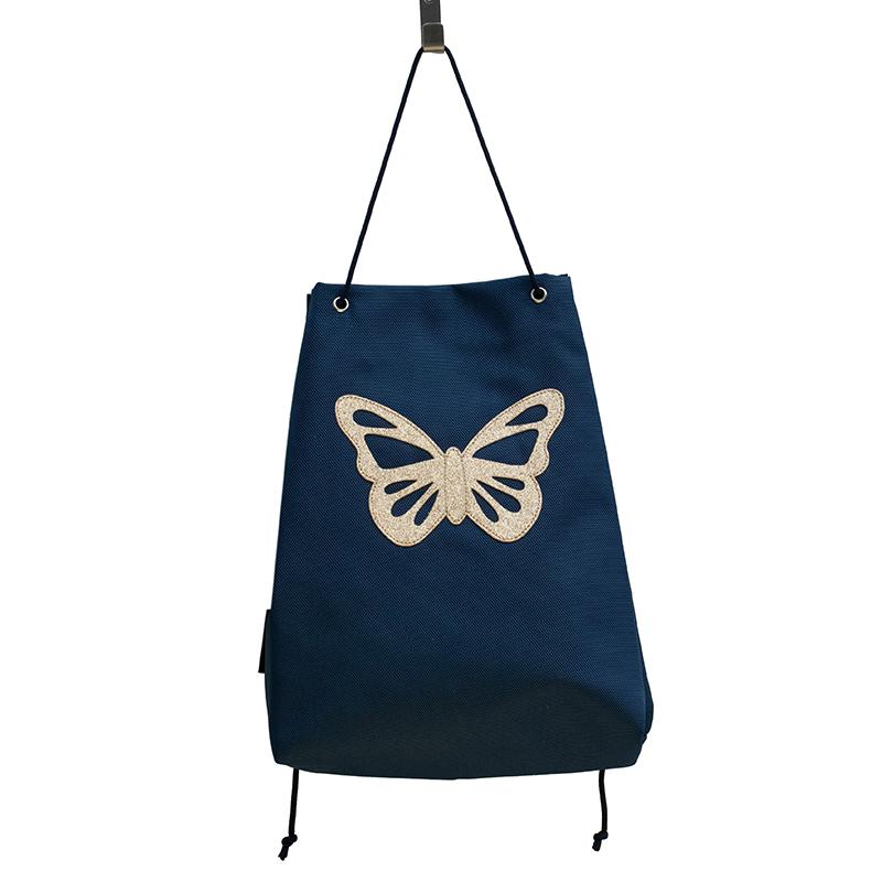 Caramel & Cie Sac De Gymnastique Papillon marine