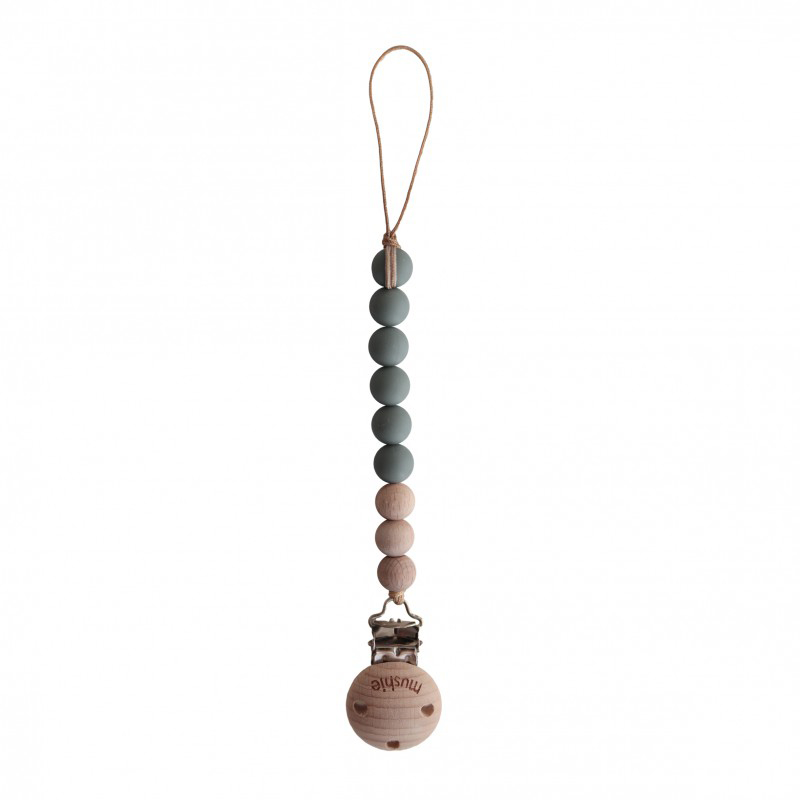 Mushie Speenketting Cleo - Dried Thyme/Wood