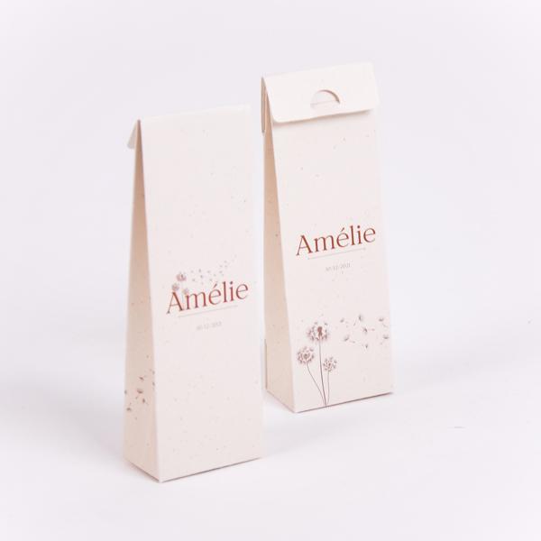 Hoog doopsuikerdoosje Amélie