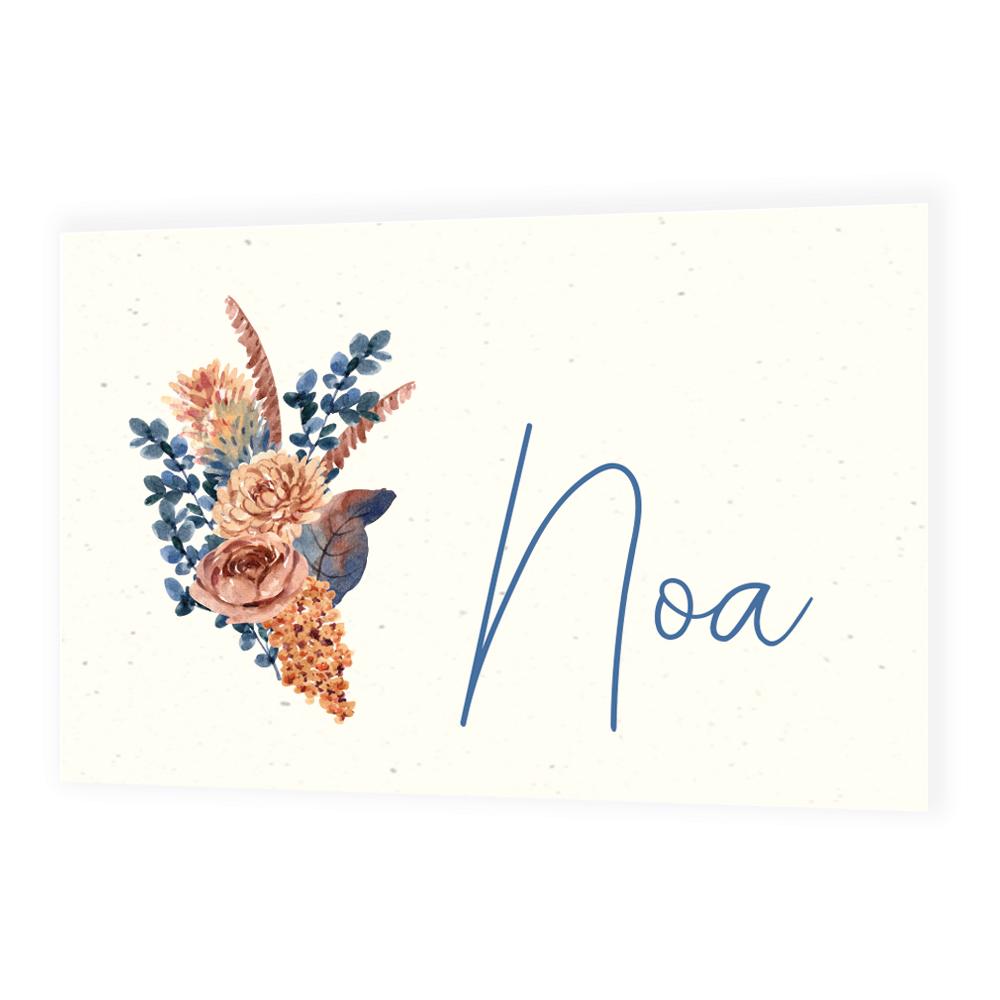Faire-part de naissance Noa