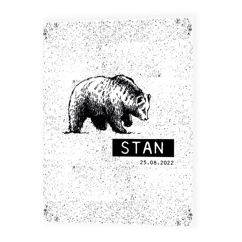 Geboortekaartje Stan