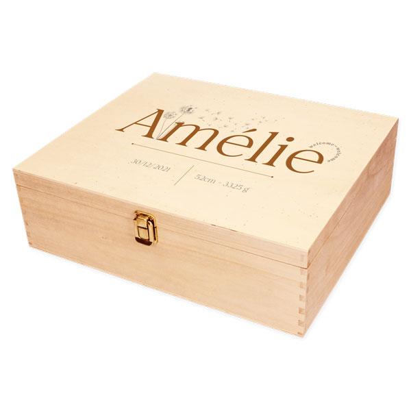 Houten herinneringskist Amélie