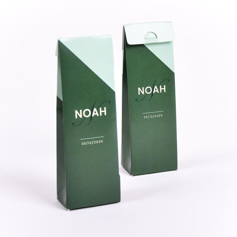 Hoog doopsuikerdoosje Noah