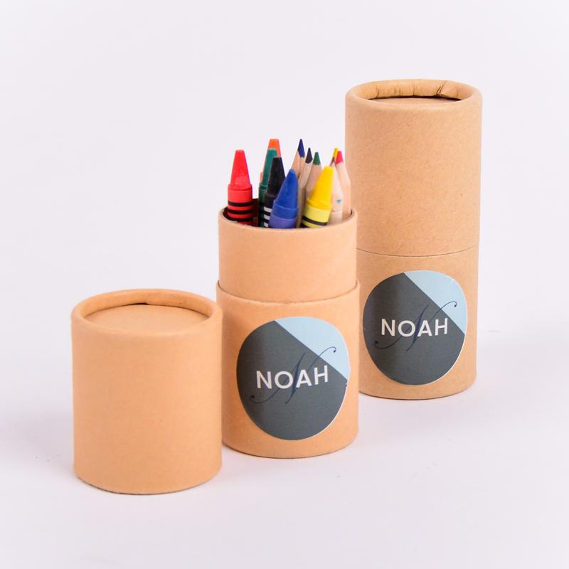 Koker kleurset met sticker Noah