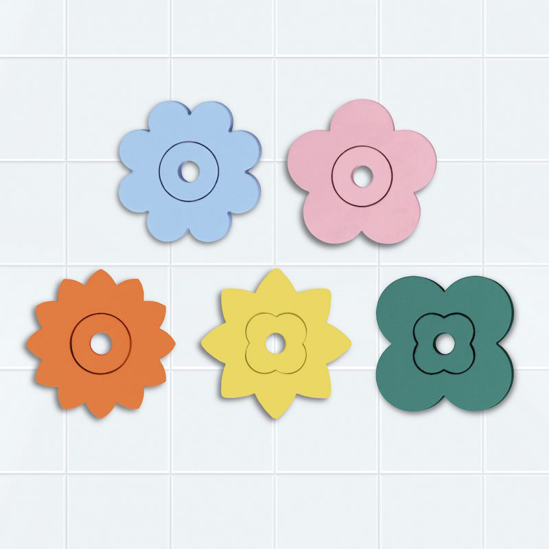 Quutopia foam badpuzzel | Flower Power