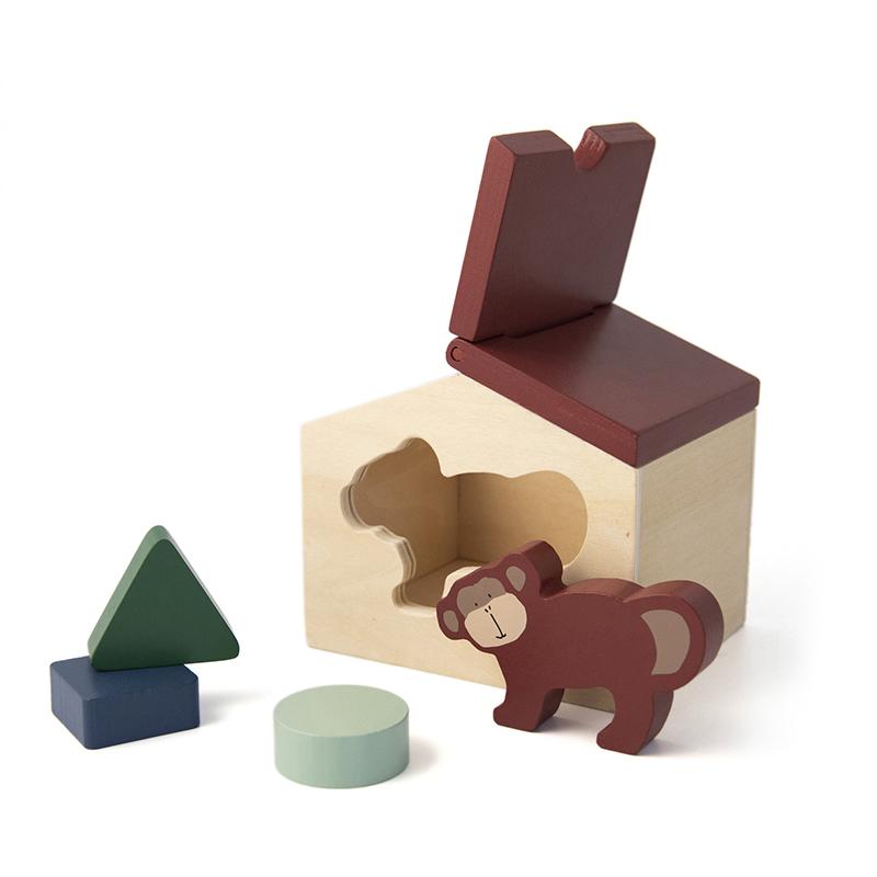 Trixie houten vormenstoof  - Mr. Monkey