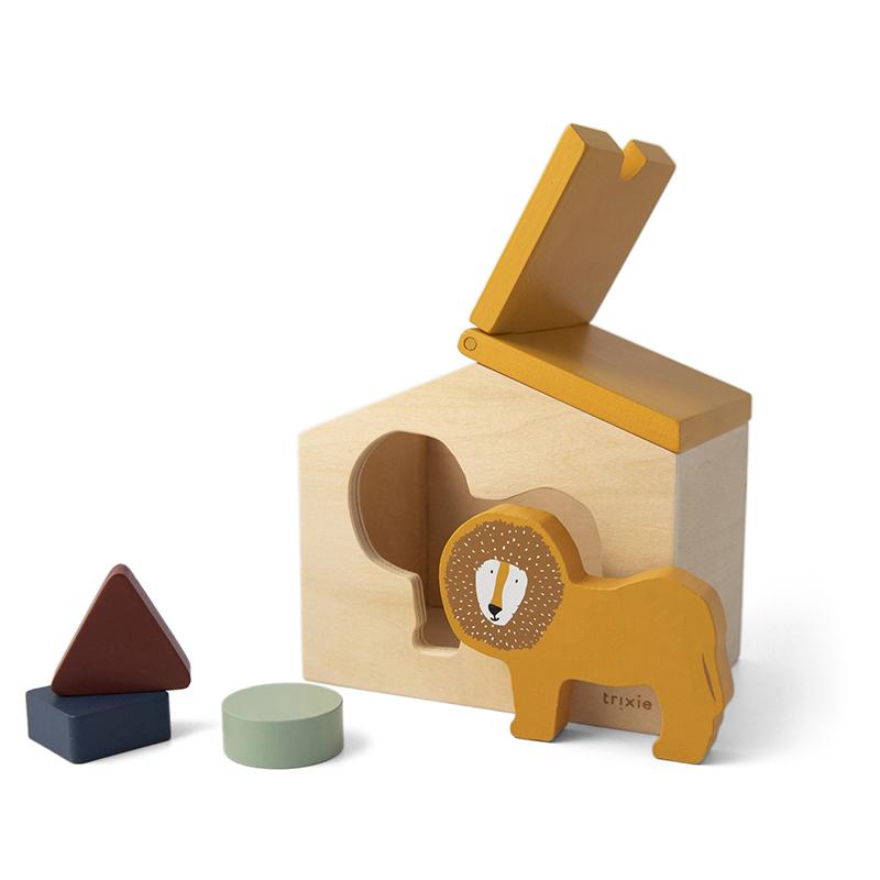 Trixie houten vormenstoof  - Mr. Lion