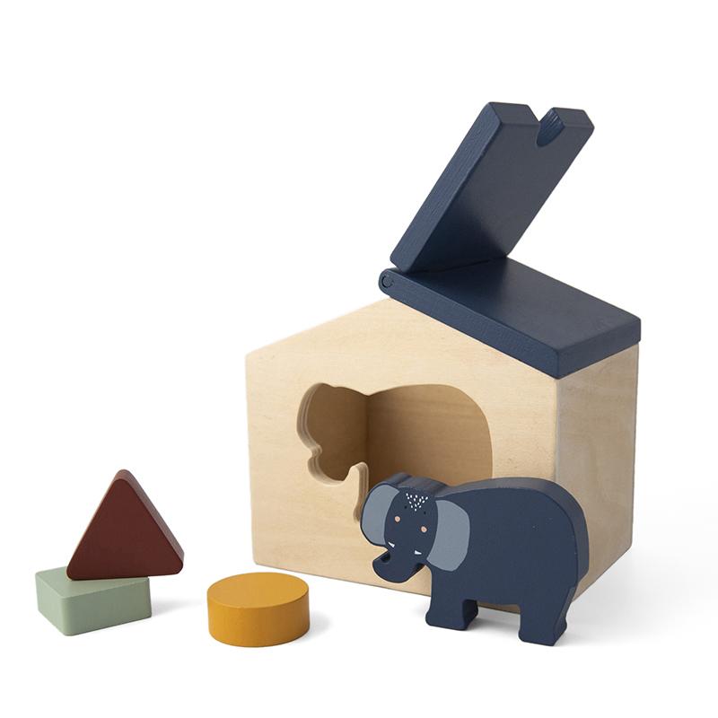 Trixie houten vormenstoof  - Mrs. Elephant