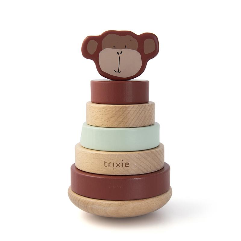 Trixie houten stapeltoren - Mr. Monkey