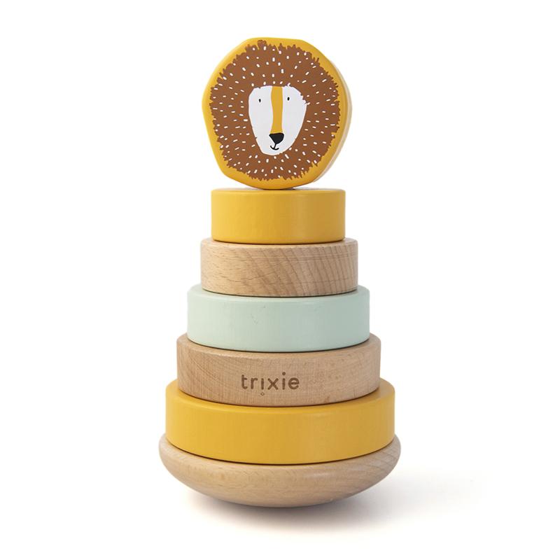 Trixie houten stapeltoren - Mr. Lion