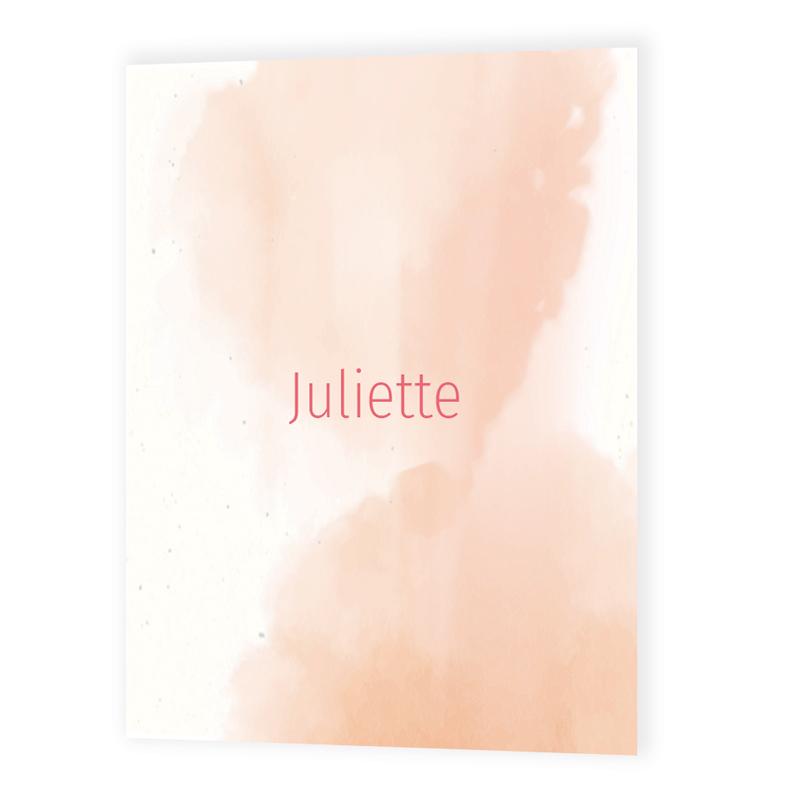 Faire-part de naissance Juliette