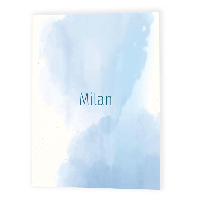 Faire-part de naissance Milan