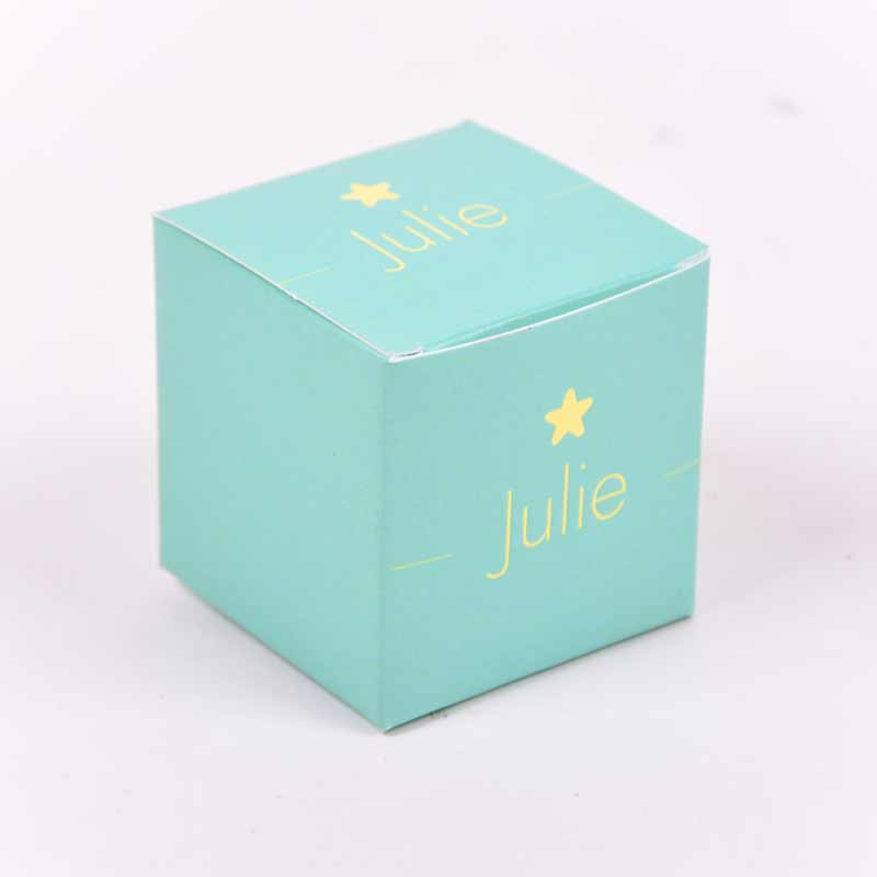 Vierkant doopsuikerdoosje Julie