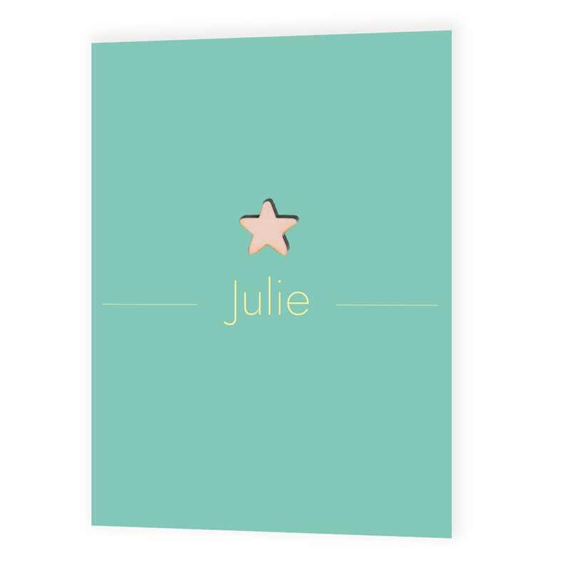 Faire-part de naissance Julie