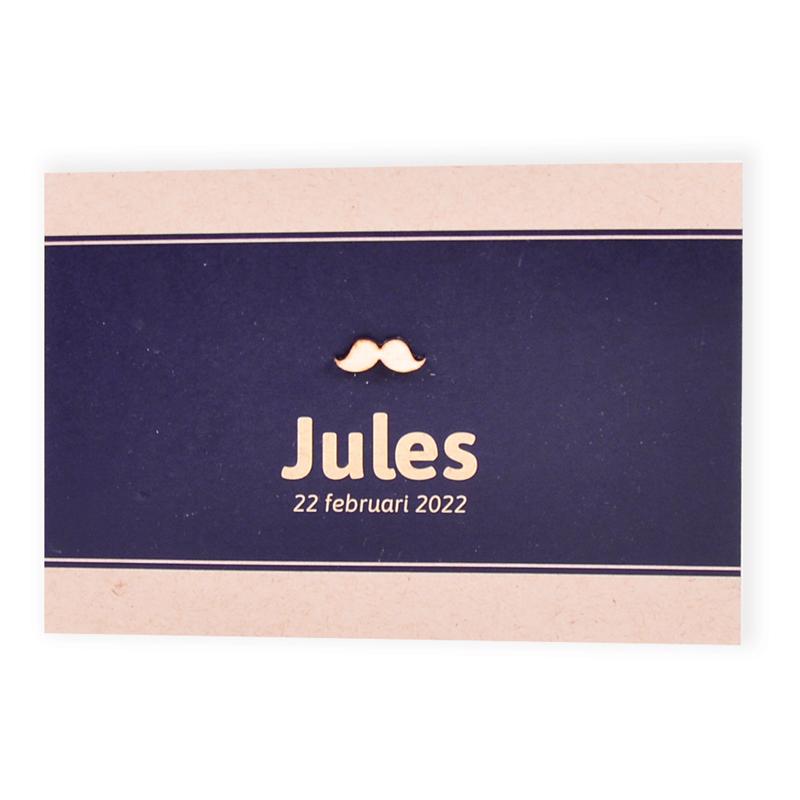 Faire-part de naissance Jules