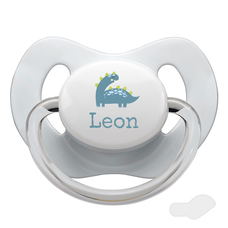 Pacifier with name, NIP