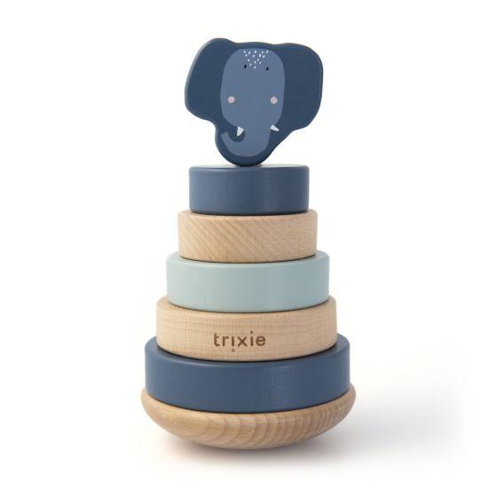 Trixie houten stapeltoren - Mrs. Elephant