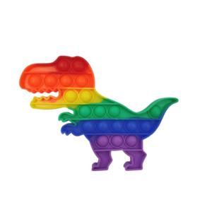 Pop it Bubble - Dino regenboog