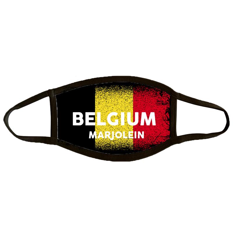 Mondmasker Large 'Belgium'