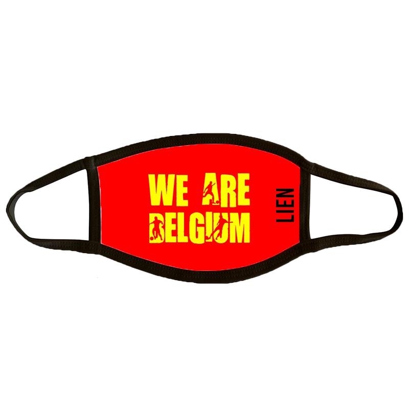 Mondmasker Large 'We Are Belgium'
