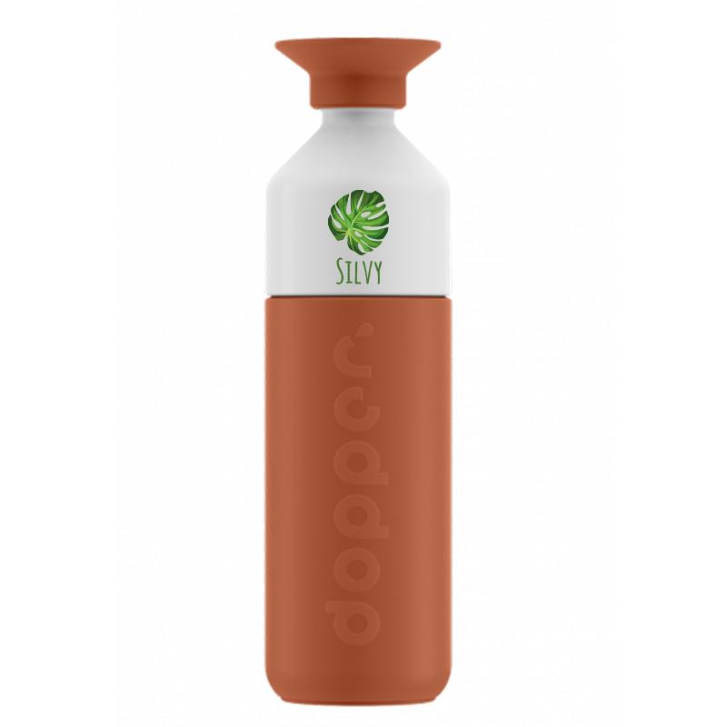 Dopper thermos drinkfles met naam - 580ml