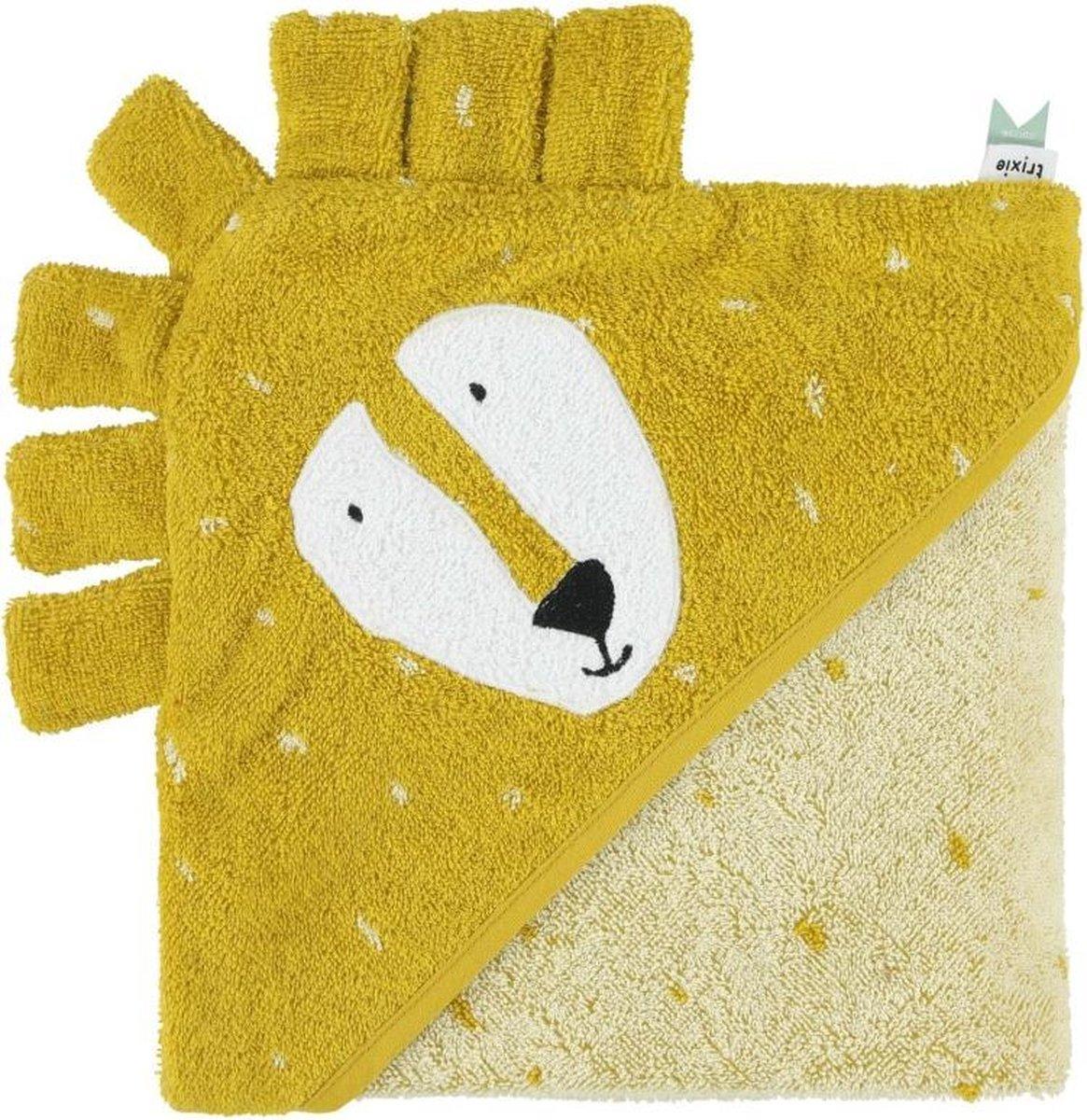 Trixie baby badcape Leeuw - Mr. Lion