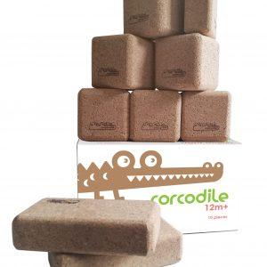 Corcodile kurken bouwblokken - Right Angles set