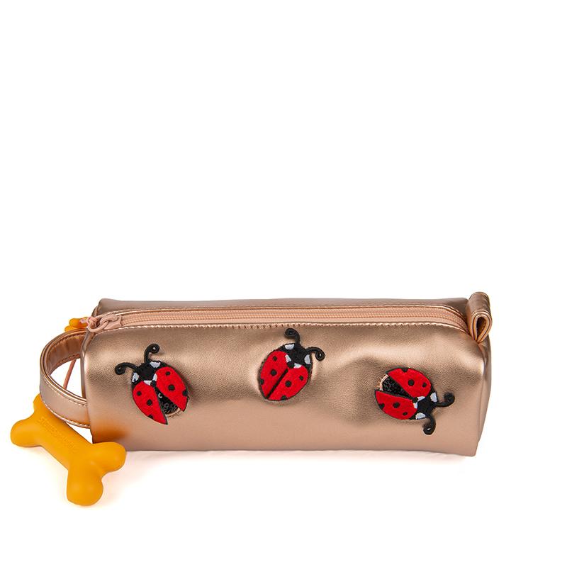 Stones and Bones Oregon Pennenzak 2.0 Ladybugs Roze