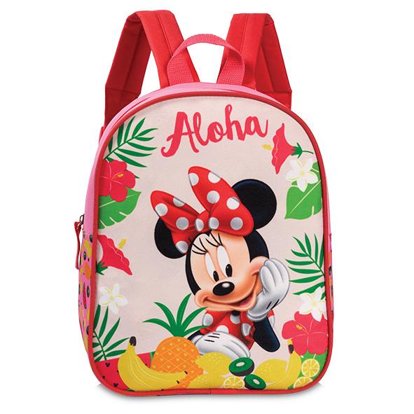 Disney Minnie Mouse rugzak - Aloha (rood)