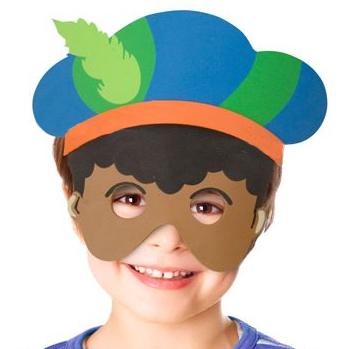 Gratis Pieten Masker