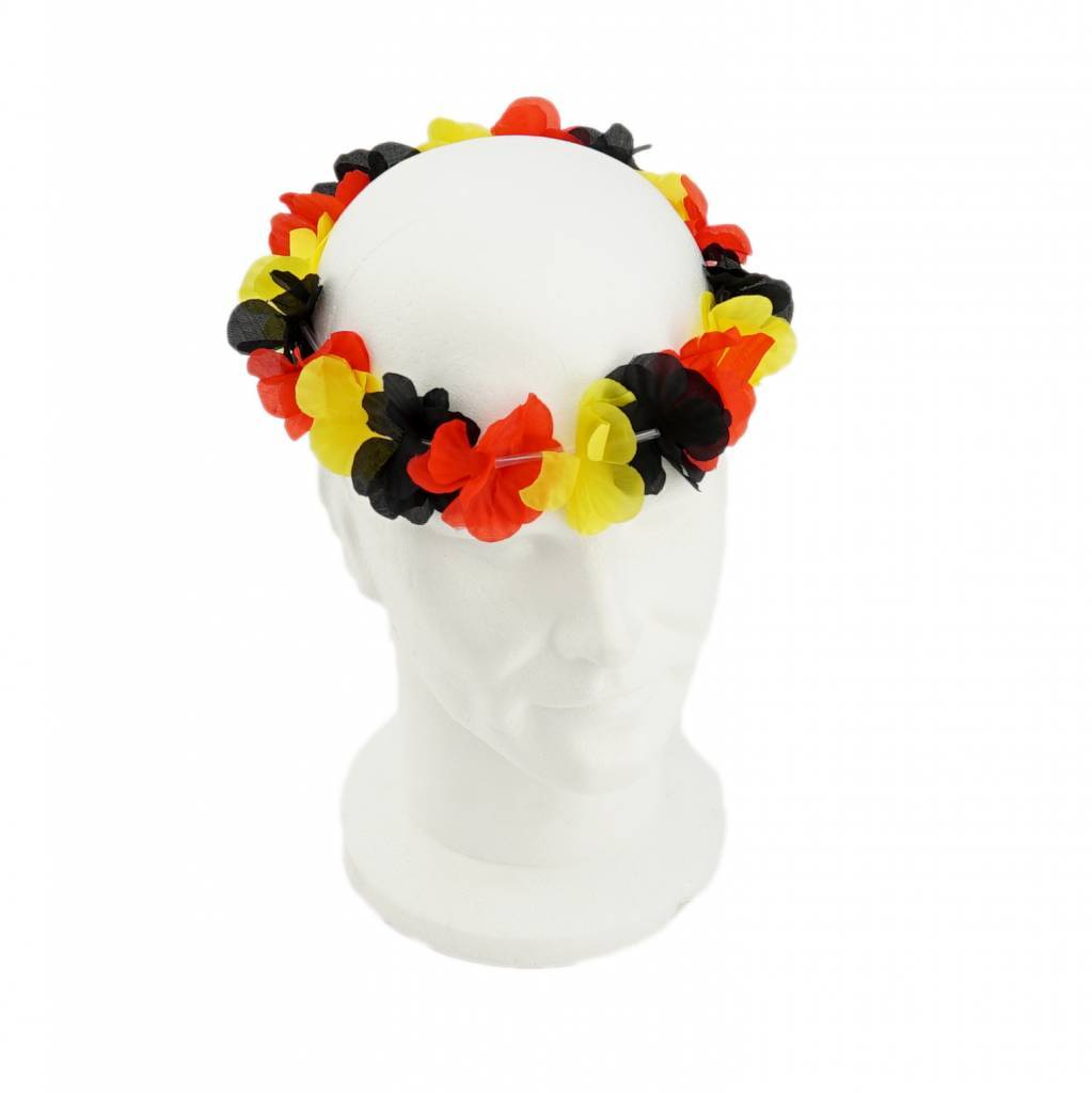 Bloemenkrans hoofd