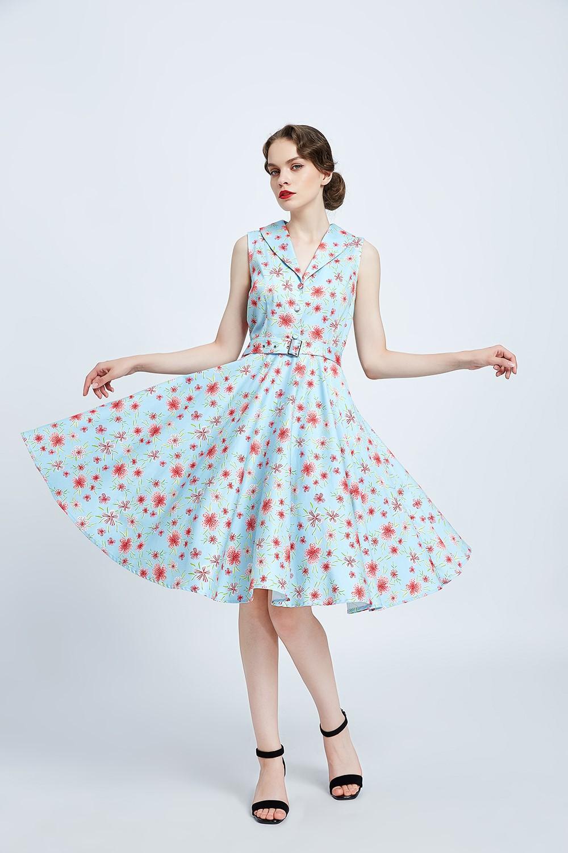 #20335-Pastel-  Blue Pink Florals-Front (003)