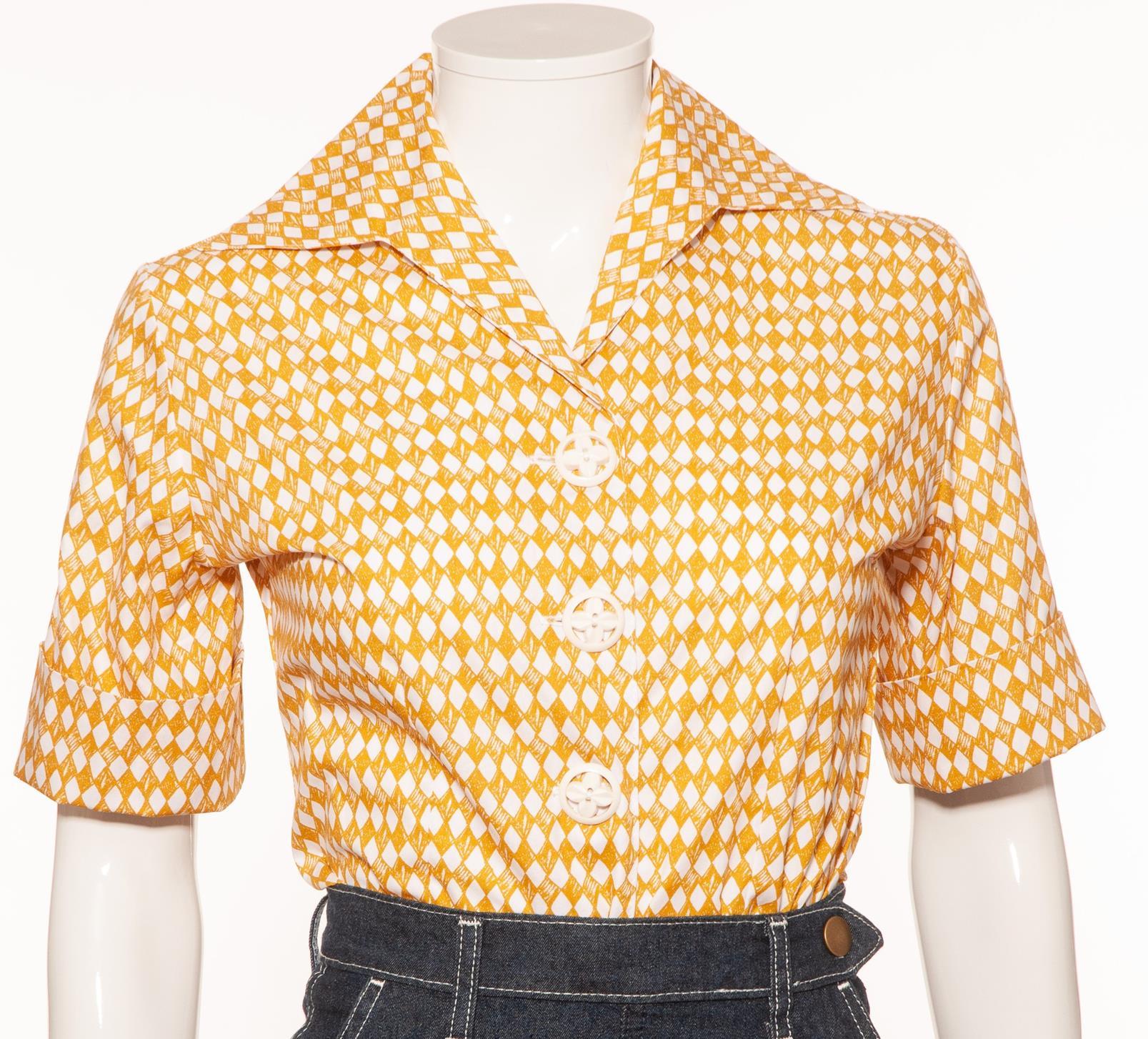 gold-diamond-1950s-blouse