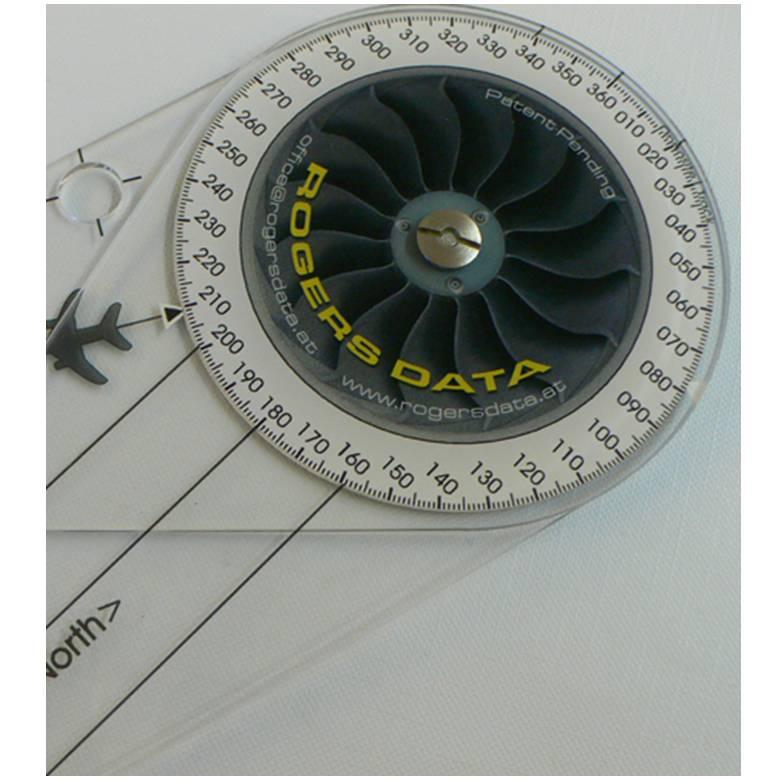 Navigationszirkel-Rogers-Data-500k-Backside-Navigationcircle-Direction-finding-for-the-determination