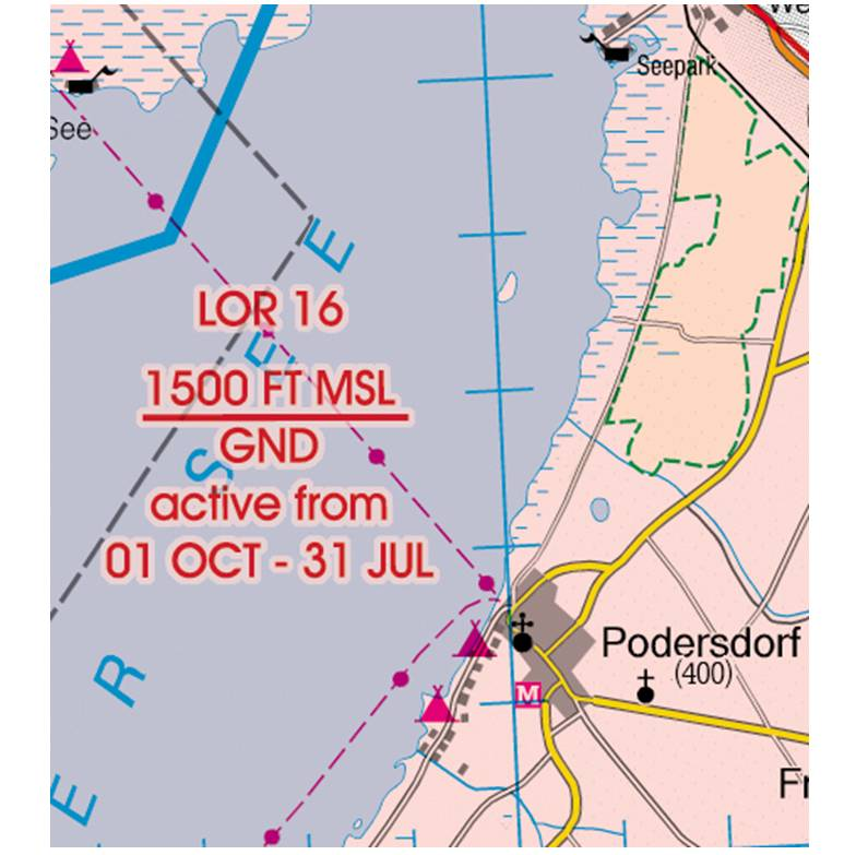 Austria-Rogers-Data-200k-Gefahrengebiet-Luftsperrgebiet-Flugbeschränkungsgebiet-Prohibited-Restricte