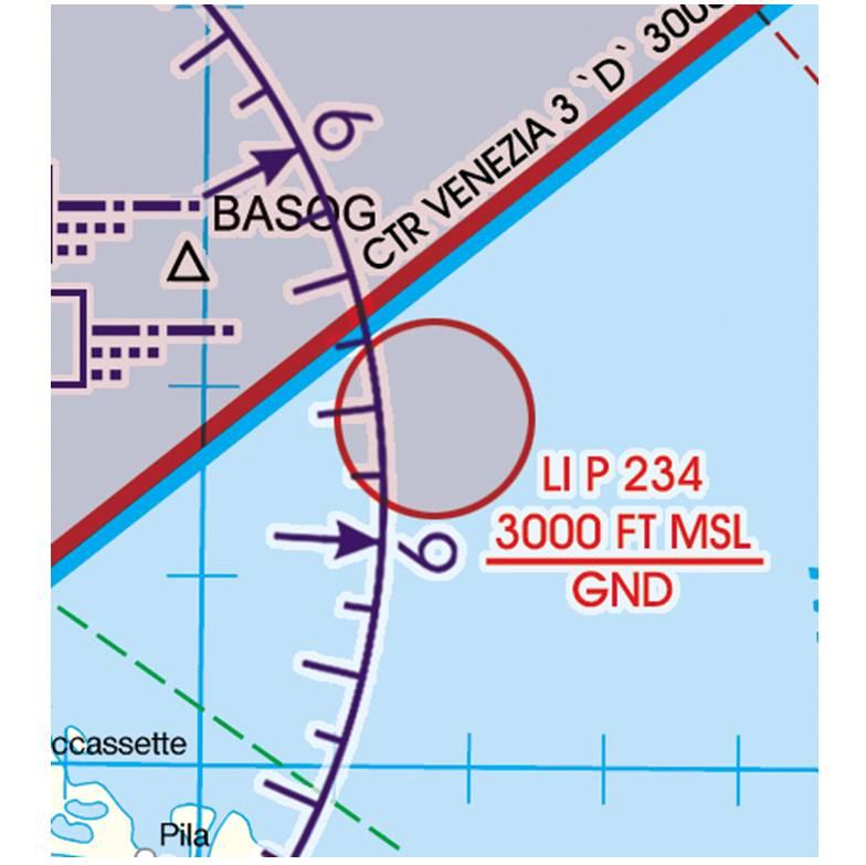 Italy-North-Rogers-Data-500k-Gefahrengebiet-Luftsperrgebiet-Flugbeschränkungsgebiet-Prohibited-Restr