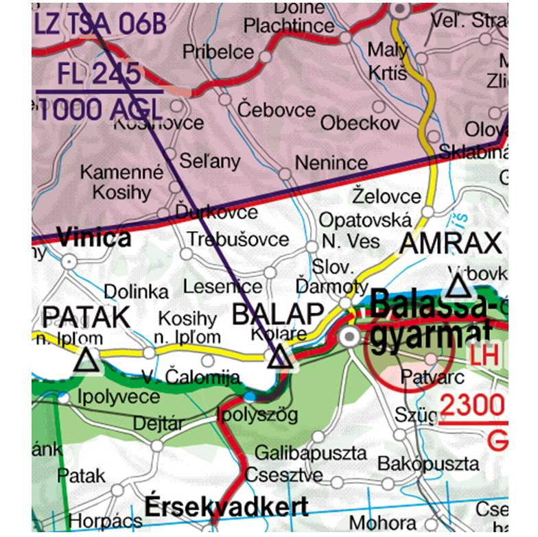 Slovakia-Rogers-Data-500k-Grenzüberflugspunkte-Significant-Points-Border-Crossing-RGB
