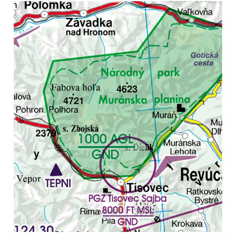 Slovakia-Rogers-Data-500k-Naturschutzgebiet-Areas-with-sensitive-Fauna-RGB
