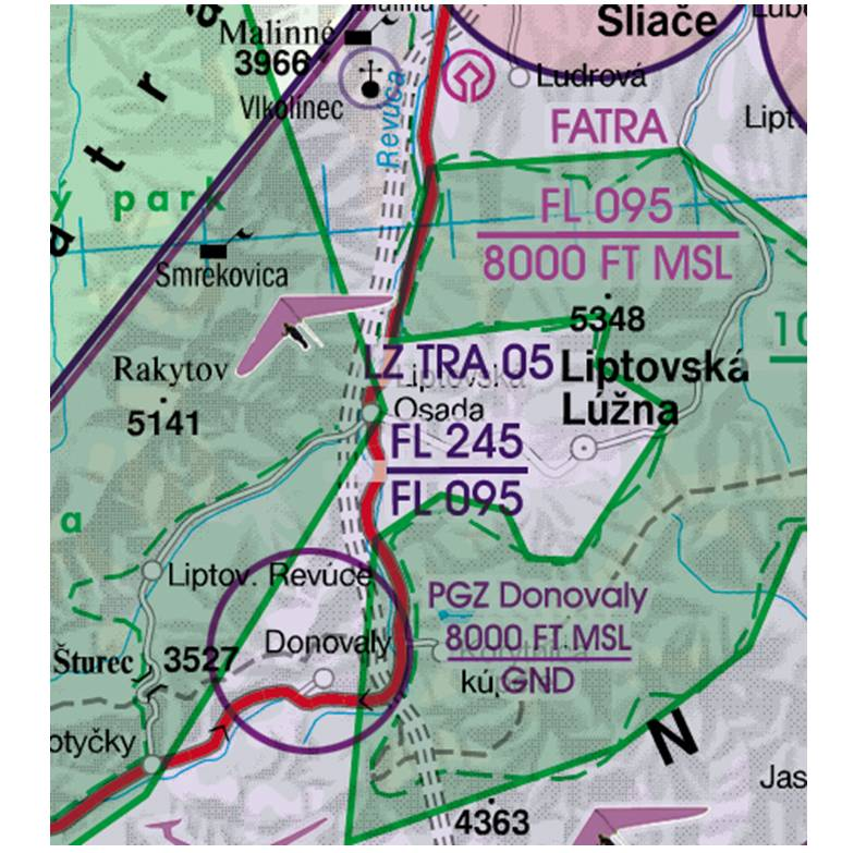 Slovakia-Rogers-Data-500k-TRA-Temporary-Reserved-Airspace-RGB