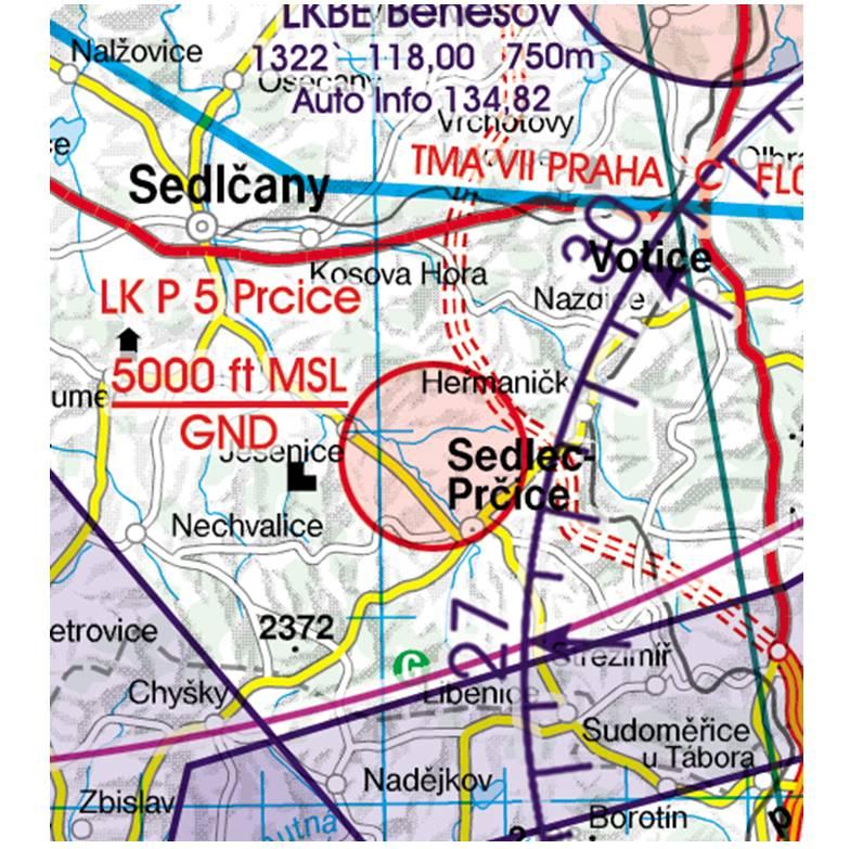 Czech-Republic-Rogers-Data-500k-Gefahrengebiet-Luftsperrgebiet-Flugbeschränkungsgebiet-Prohibited-Re