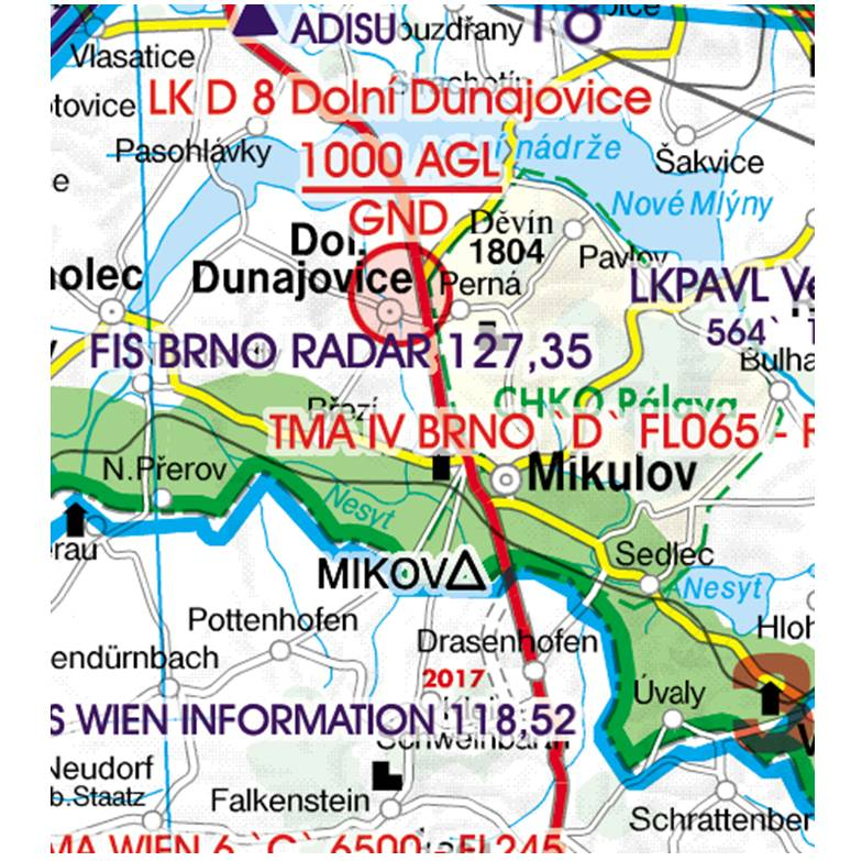Czech-Republic-Rogers-Data-500k-Grenzüberflugspunkte-Significant-Points-Border-Crossing-RGB